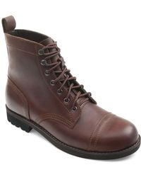Eastland - Jayce Leather Ankle Boots - Lyst