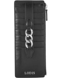 Lodis - Rodeo Chain Leather Card Case - Lyst