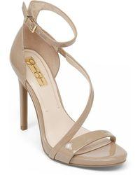 Jessica Simpson - Asymmetrical Strap Heels - Lyst