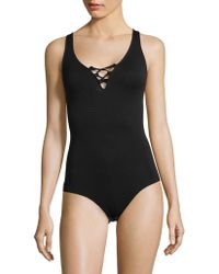 Lord & Taylor - Seamlessly Shaped Bodysuit - Lyst
