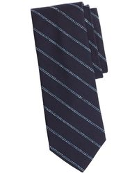Brooks Brothers - Double Stripe Silk Tie - Lyst