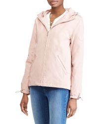 Lauren by Ralph Lauren - Water Resistant Zip Front Jacket - Lyst
