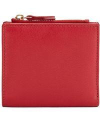 Lord & Taylor | Mini Leather Wallet | Lyst
