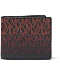 Michael Kors - Jet Set Monogram Rfid-protection Wallet - Lyst