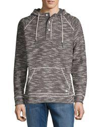 Tommy Bahama - Baja Nova Long Sleeve Hooded Poncho (fog Grey) Men's Clothing - Lyst