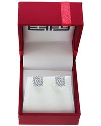Effy - Bouquet Diamonds And 14k White Gold Stud Earrings - Lyst