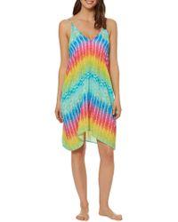 Bleu Rod Beattie - Tie-dye Tank Dress - Lyst