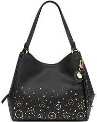 Nine West - Studded Medium Hobo Bag - Lyst