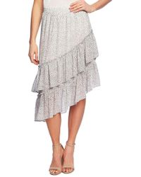 8d98621ef 1.STATE Ditzy Drift Twist Front Mesh Skirt - Save 68% - Lyst