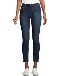 Jones New York Lexington Curvy Jeans - Blue