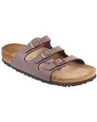 ea3256917919 Birkenstock - Florida Soft Footbed Sandals - Lyst