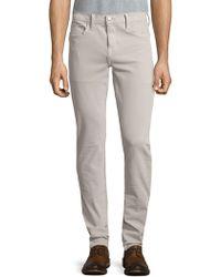 Joe's Jeans - Buttoned Slim-fit Jeans - Lyst