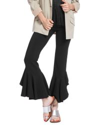 Tracy Reese - Cascading Ruffle Ankle Trousers - Lyst