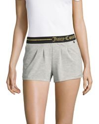 Juicy Couture - Logo Sleep Shorts - Lyst
