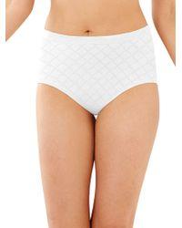 Bali Cool Dri Full Coverage Panty - White