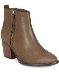 Blondo - Vegas Leather Almond Toe Ankle-boots - Lyst