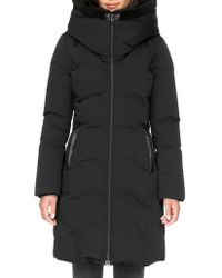 SOIA & KYO - Hooded Puffer Coat - Lyst