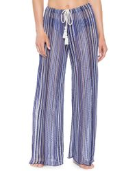 Becca - Pierside Sheer Pants - Lyst