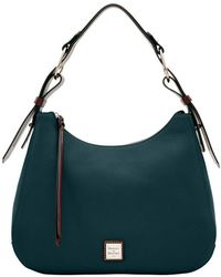 Dooney & Bourke - Large Riley Leather Hobo Bag - Lyst
