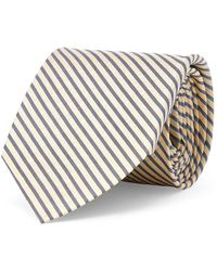 Lauren by Ralph Lauren - Stripe Silk Tie - Lyst