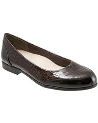 Trotters - Arnello Patent Leather Loafers - Lyst