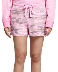 Sanctuary - Camouflage French Terry Shorts - Lyst