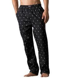 Polo Ralph Lauren Printed Pony Cotton Pyjama Pants