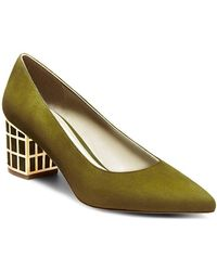 B Brian Atwood - Karina Microsuede Point-toe Pumps - Lyst