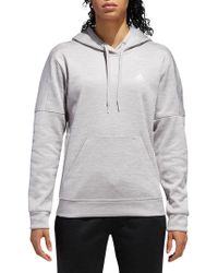 cb252bf305e adidas - Sport Performance Team Issue Pullover Hoodie - Lyst