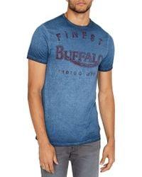 Buffalo David Bitton - Tycold Graphic Cotton Tee - Lyst