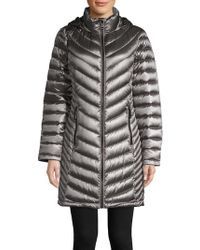 Calvin Klein - Long Packable Puffer Coat - Lyst