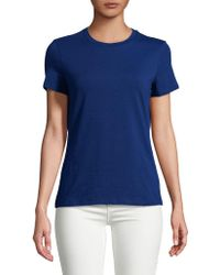 Lord & Taylor - Petite Short-sleeve Tee - Lyst