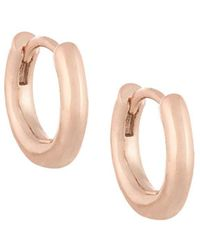 French Connection | Classic Huggie Hoop Earrings | Lyst