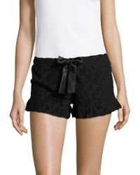 Juicy Couture - Textured Sleep Shorts - Lyst