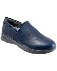 Softwalk - Vantage Leather Slip-on Sneakers - Lyst
