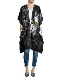 Steve Madden - Floral Classic Kimono - Lyst