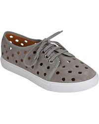 Corso Como - Rasta Perforated Leather Sneakers - Lyst