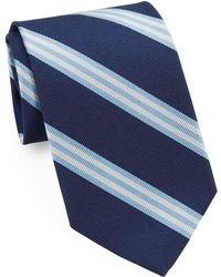 Brooks Brothers - Classic Double Stripe Tie - Lyst