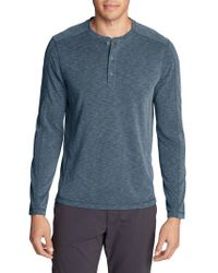 Eddie Bauer - Contour Performance Long-sleeve Henley - Lyst