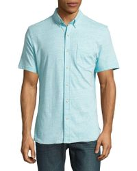 Surfside Supply - Heathered Short-sleeve Knit Shirt - Lyst