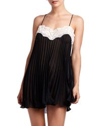 Rya Collection - Pleated Lace Chemise - Lyst