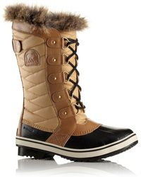 Sorel - Tofino Ii Coated Canvas & Faux Fur Winter Boots - Lyst