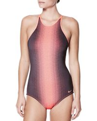 Nike - One-piece Swim Fade Sting Swimsuit - Lyst