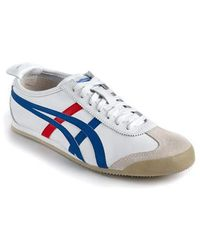 Asics   Mexico 66 Leather Sneakers   Lyst