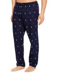 Ralph Lauren Pony-print Cotton Pyjama Pants