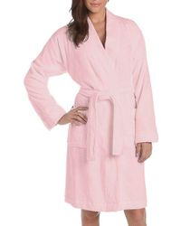 Lauren by Ralph Lauren - Plus Greenwich Towel Cotton Robe - Lyst