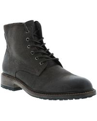 Blackstone - Leather Lace Up Boots - Lyst
