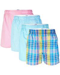 Polo Ralph Lauren 3-pack Classic-fit Cotton Boxers + 1 Bonus Boxer