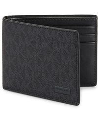 Michael Kors - Slim Bi-fold Wallet - Lyst