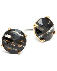 Kate Spade - Bright Ideas Crystal Stud Earrings - Lyst